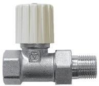R6 Вентиль прямой  3/4  (STI -Эльф, для ал. и би радиаторов)