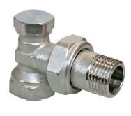 R16D/2 Клапан обратный угл. 3/4  (настроечный клапан для ал и би радиаторов)