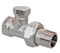 R17D/2 Клапан обратный 3/4  (настроечный клапан для ал и би радиаторов)