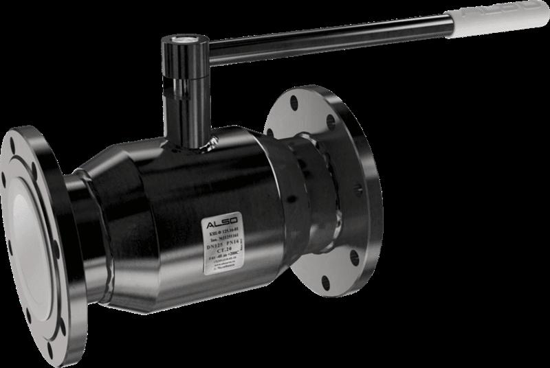 КШФ Ду125/100 (L= 350 мм) Ру 1,6 МПа из Ст.20 Кран шаровой  ALSO  фл - фото 11859