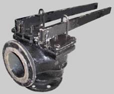 Клапан предохранительный 17с5бр  двухрычажный Ду80 Ру25 - фото 6241