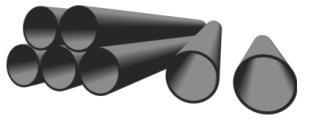 Труба ПЭ 80 SDR-11(12,5 атм) Ду 63 (газ) - фото 6301