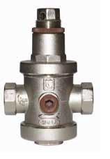 Редуктор давления латунный ВР-ВР- Ду40 Тmax=130С Itap 143 (Ру25, 1-6 атм)под акс.маном-р 1/4 - фото 6348