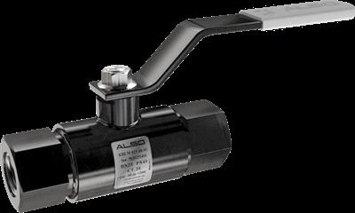 Кран шаровой  ALSO  муфтовый КШМ Ду 65/50 Ру 2,5 МПа из Ст.20 (L=190 мм) - фото 8677