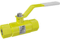 Кран шаровой  ALSO  муфт. П/П КШМП GAS Ду 15/15  Ру4,0 МПа из Ст.20 (L=135мм)