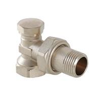 VT.019.N.04 Клапан настроечный VALTEC, для радиатора, угловой 1/2