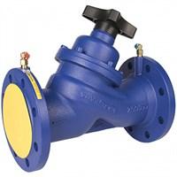 Клапан балансировочный Zetkama 447A-040-C-72, DN040, PN16, Ф/Ф, Тмакc 120°C