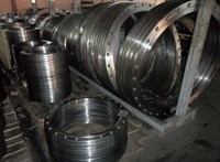 Фланец плоский сталь Ду1000 Ру 6 тип 01 ряд 1 исп.B ГОСТ 33259