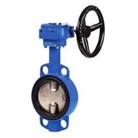 Затвор дисковый межфланцевый Genebre 2103 24 DN400, PN10 GG20 / GGG40 / EPDM, Tmax +120 °С,редуктор