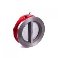 Клапан обрат.межфл.2-створчатый Rushwork 400-150-16 DN150 PN16,корп.-чуг., седло-EPDM, Tmax=110°C