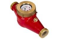 Счетчик воды ЭКОМЕРА - 40Ч Универс. муф. мног. (L без к.п./с к.п. =  300 / 420 мм)