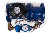 Комбинированный счетчик х/воды DUAL(i) 150/40 Ду-150 с обводной линией с передатчиком импул. (GROEN
