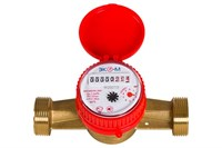 Счетчик воды Одноструйный ЭКОМЕРА-25 Универсальный (Ду25, L160, с КМЧ)