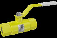 Кран шаровой  ALSO  муфт. П/П КШМП GAS Ду 25/24  Ру4,0 МПа из Ст.20 (L=135мм)