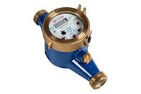 Счетчик воды ЭКОМЕРА-50М мокроходный рез  С ГЛИЦЕРИНОМ (антимагнитный, холодный, Ду50, L=300, с КМЧ)