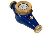 Счетчик воды ЭКОМЕРА - 32Ч Холод. муфт.многостр (L без к.п./с к.п. =  260 / 390 мм)