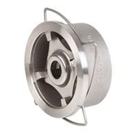 Клапан обратный дисковый Genebre 2415 08, DN40 PN40, CF8M / CF8M / Metal/Metal, межфланцевый