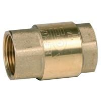 Клапан обратный пружинный Genebre 3121 07, DN32 PN18, Латунь/Латунь/NBR, вн.резьба