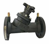 Клапан балан. руч.фл. с изм.нип. DN 80 REON тип RSV55 (PN16, Тmax=120°С, корп.- чуг, Kv=137.2м³/ч)
