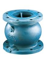 065B7471 Клапан обратный пружинный тип NVD402, фланцевый, чугун, PN16, Ду 50