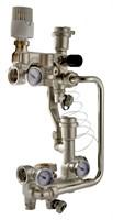 VT.COMBI.0.180 Насосно-смесительный узел VALTEC, без насоса, монтажная длина насоса 180 мм