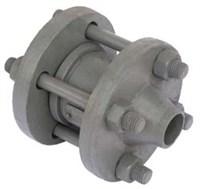 Клапан 19с38нж Ду100 Ру63 привар.