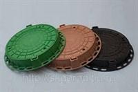 Люк полимерный Тип Л зелёный