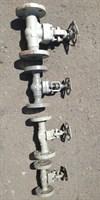 Вентиль ст.  Ру63  15с1нж Ду40 (L=260 мм) фланцевый
