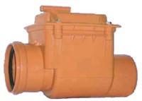 Клапан обратный Ду110 (для ПВХ труб)
