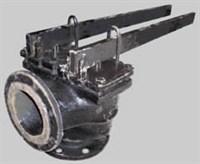 Клапан  17ч19бр (17ч5бр) двухрычажный Ду125 Ру16
