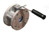 Кран шаровый укороченный КШШС  80-16 (L= 120 мм, Ду эф.=75мм, t до +150грд.)