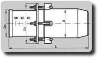 Компенсатор сальниковый 500-16-500
