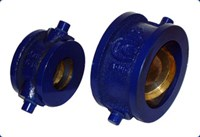 Клапан 19ч21р Ду100 Ру16 м/фл.