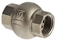 VT.151.N.05 Клапан обратный  VALTEC 3/4  (латунный золотник) до +130 грд.