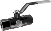 Кран шаровой  ALSO  муфтовый КШМ Ду 15/15 Ру 4,0 МПа из Ст.20 (L=135 мм)