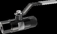 Кран шаровой  ALSO  муфтовый КШМ Ду 20/15 Ру 4,0 МПа из Ст.20 (L=135 мм)