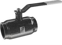 Кран шаровой  ALSO  муфтовый КШМ Ду100/75 Ру 2,5 МПа из Ст.20 (L=240 мм)