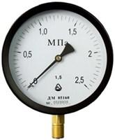 Манометр 150мм, ДМ 05160 - 16 кгс/см2 - 1,5 - 01М (Б), М20х1,5 радиальный (снизу)