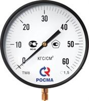 МАНОМЕТР 250 мм, ТИП- ТМ-810Р, М20х1,5 (снизу), 0-25кг/см2, кл. 1,5, корупс-сталь, механизм-латунь