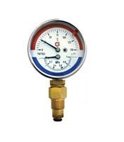 Термоманометр 80мм, Тип-ТМТБ-31Р (0-150С: 0-1,0 МПа)