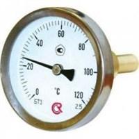 Термометр ТИП-БТ-31, 0-120грд. осевой 100х6мм, ф63мм